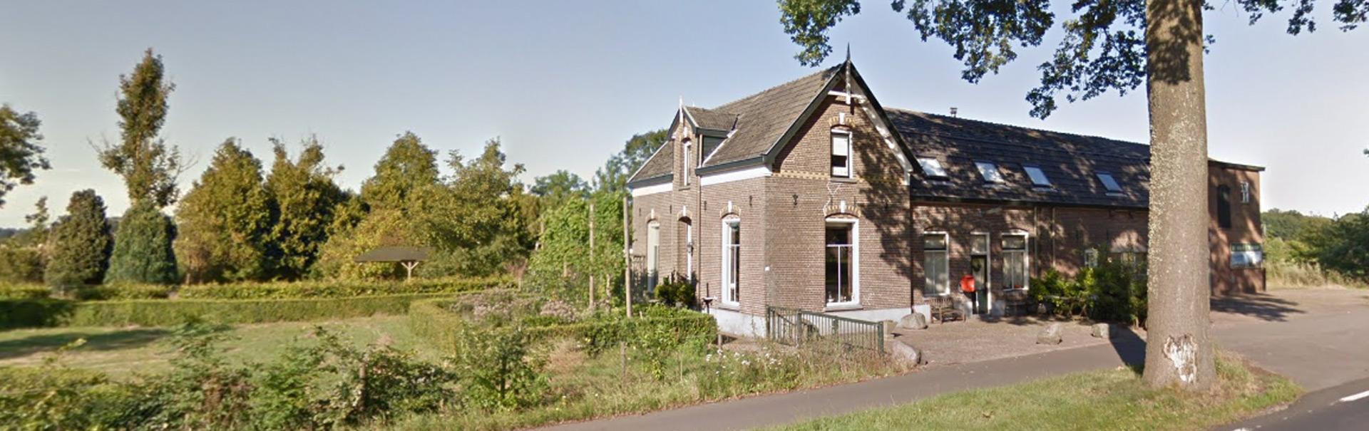 Luijendijk Hoveniers foto van de buitenkant van het pand