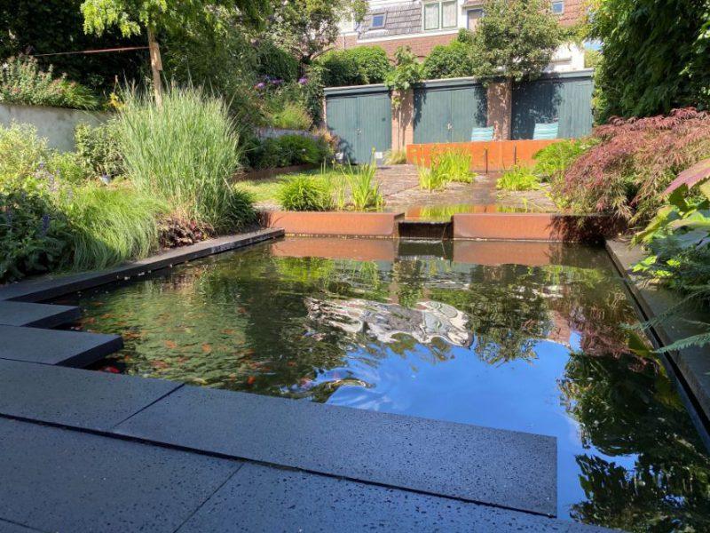 Tuin bij een particulier in Arnhem